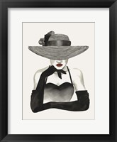 In Vogue II Framed Print