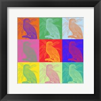Parrot Party I Framed Print