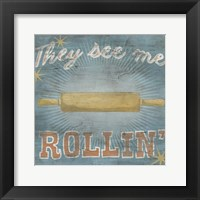 Hip Kitchen II Framed Print