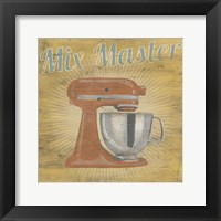 Hip Kitchen III Framed Print