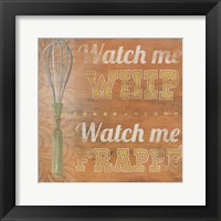 Hip Kitchen IV Framed Print