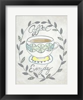 Breakfast Club II Framed Print