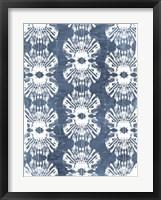 Batik Shell Patterns III Framed Print