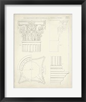 Greek & Roman Architecture I Framed Print