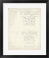 Greek & Roman Architecture III Framed Print