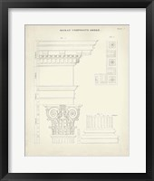 Framed Greek & Roman Architecture IV