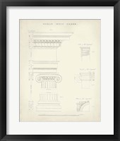 Greek & Roman Architecture V Framed Print