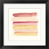 Palette Stack VI Framed Print