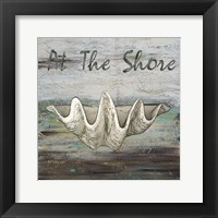 At the Shore I Framed Print