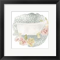 Garden Romance Bath II Framed Print