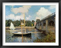 Framed Seine at Argenteuil