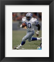 Framed Barry Sanders 1989 Action
