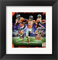 Framed Denver Broncos 2016 Team Composite