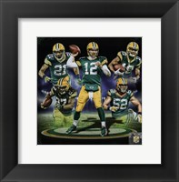 Framed Green Bay Packers 2016 Team Composite