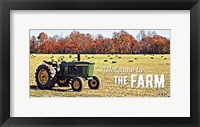 Framed Farm Welcome