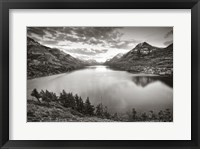 Framed Waterton Sunset