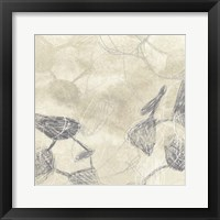 Graphite Inversion I Framed Print