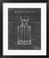 Barware Blueprint VII Framed Print
