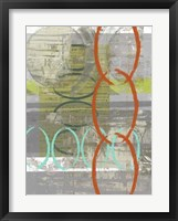 Linking  I Framed Print