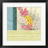 Floral Montage II Framed Print