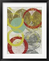 Layers & Circles II Framed Print