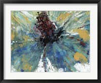 Blue Splash I Framed Print