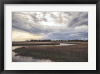 Low Country Sunset II Framed Print
