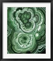 Malachite II Framed Print
