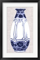 Blue & White Vase II Framed Print