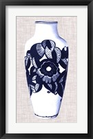 Blue & White Vase III Framed Print