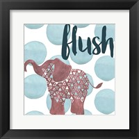 Jungle Bath III Framed Print