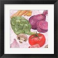 Veggie Medley I Framed Print