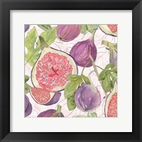 Fig Medley II Framed Print