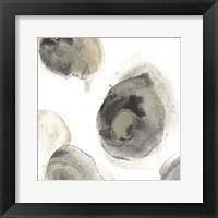 Water Stones III Framed Print