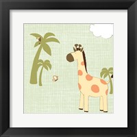 Baby Jungle I Framed Print