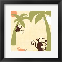 Framed Baby Jungle II