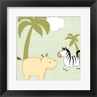 Baby Jungle III Framed Print