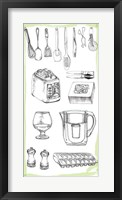 Kitchen Display II Framed Print