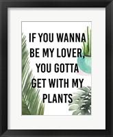 Plant Love IV Framed Print
