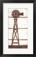 Farmhouse Windmill I Framed Print