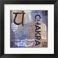 Framed Yoga Series - Chakra