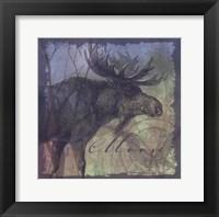 Framed Moose