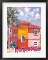 Framed Bougainvillea Villa