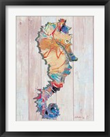 Framed Seahorse II
