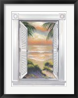 Framed Window View I