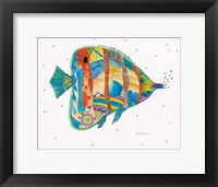 Passion Fish I Framed Print