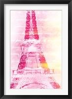 Framed Pink Words