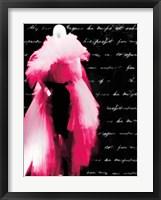 Framed Pink Dress