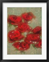 Framed Country Music Roses
