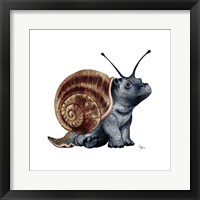 Baby Snappo Framed Print